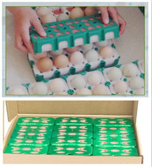 EPE пена + ПВХ рамка отверстия для яиц яйца упаковочные материалы упаковка паллет яйцо ящик для хранения инструмент