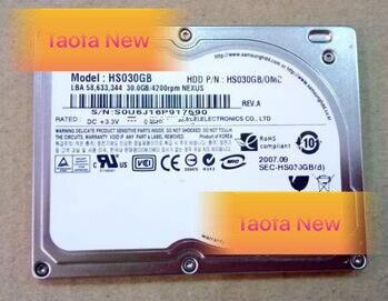 """1,8 """"30 GB HS030GB 4200RPM MK3008GAL HS04THB HS06THB HS081HA para IPOD VIDEO clásico Microsoft zune"""