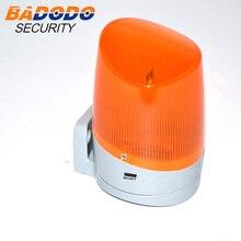 Outdoot Garage Hause Tor öffner motor LED blinklicht Blinkt lampe Signal licht
