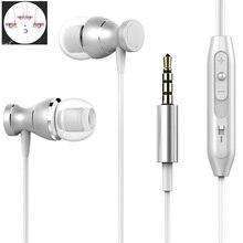 Meilleur écouteur stéréo basse ZC551KL pour Asus ZenFone 3 Laser ZC551KL écouteurs casques avec micro écouteurs fone de ouvido casque