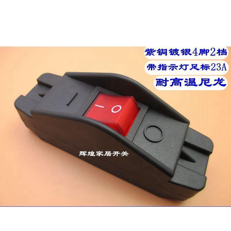El interruptor de barco en línea de resistencia a la temperatura de prevención de incendios en 308D encenderá la corriente eléctrica 23A