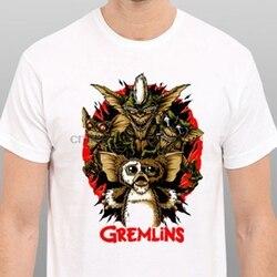 Camiseta para camiseta gremlins vintage clássico do cartaz do filme