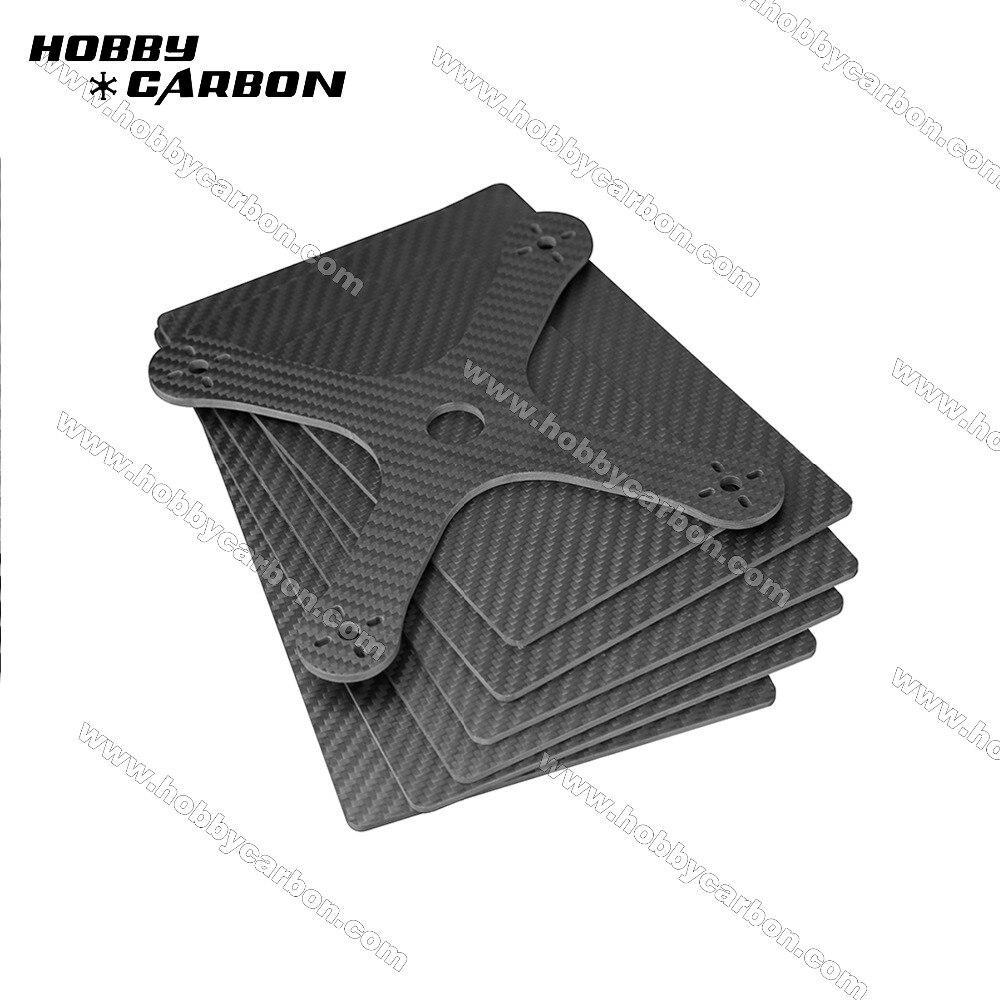 Jocuton 200x300x1.0mm 100%/totalmente de fibra de carbono sarga mate Placa de carbono/hoja/tablero para multirotores 1 ud.