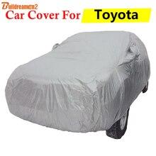 Construcdreamen2 housse de protection pour voiture   Protection anti-uv, anti-soleil, pluie et rayures, pour Toyota 4Runner, Avensis Aygo Tacoma