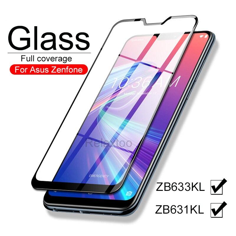 Cristal protector para Asus Zenfone max pro M2 ZB631KL ZB633KL, cristal templado...