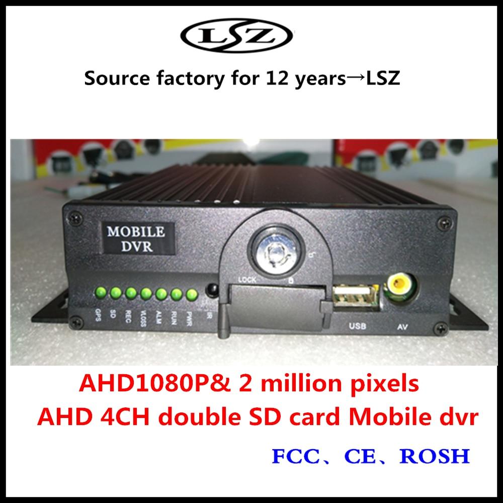 Tarjeta dual de host de Monitoreo Directo de fábrica de 4 canales soporte VCR 1080P Full HD NTSC/PAL
