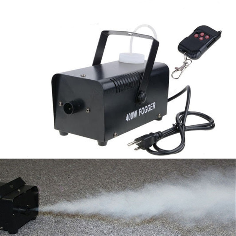 400W Machine à fumée avec télécommande Mini Machine à brouillard pompe dj disco fumée Machine de noce scène effets machine 400w