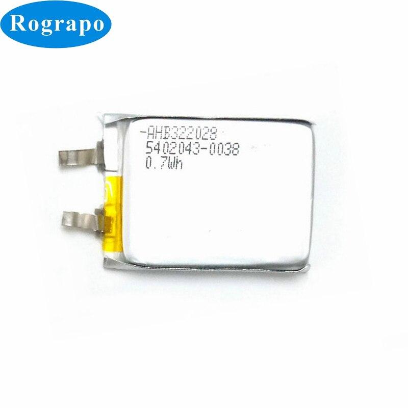 Nova Substituição Da Bateria Li-Polímero 0.7WH AHB322028 Para TomTom Corredor Cardio (1st Version) GPS Relógio Inteligente