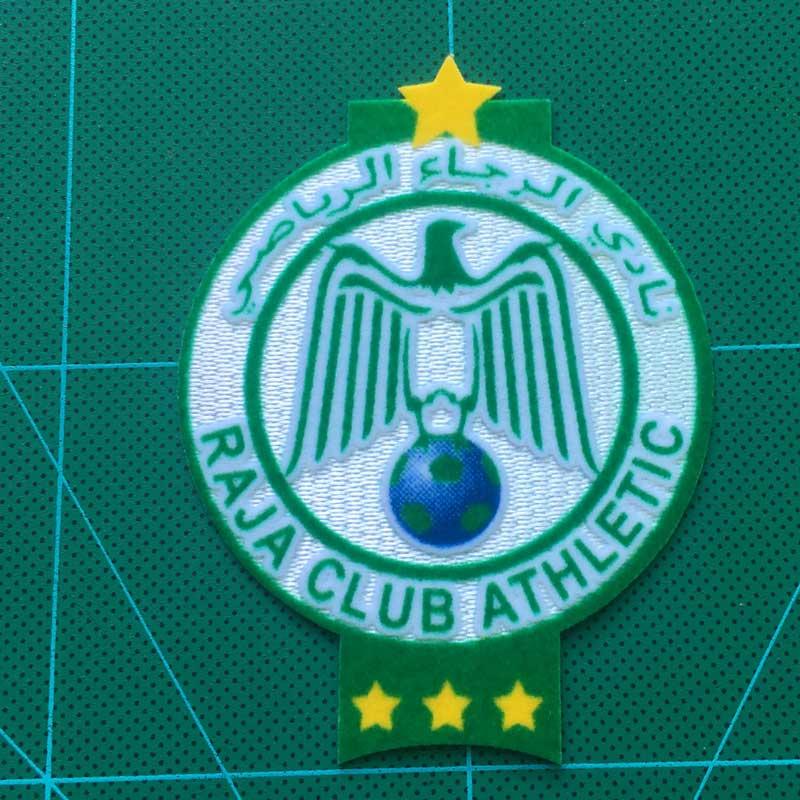 Morocco RAJA club  de futbol patch