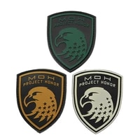 honor eagle green mud white pvc epoxy armband military tactics special force morale badge outdoor sports decoration patch