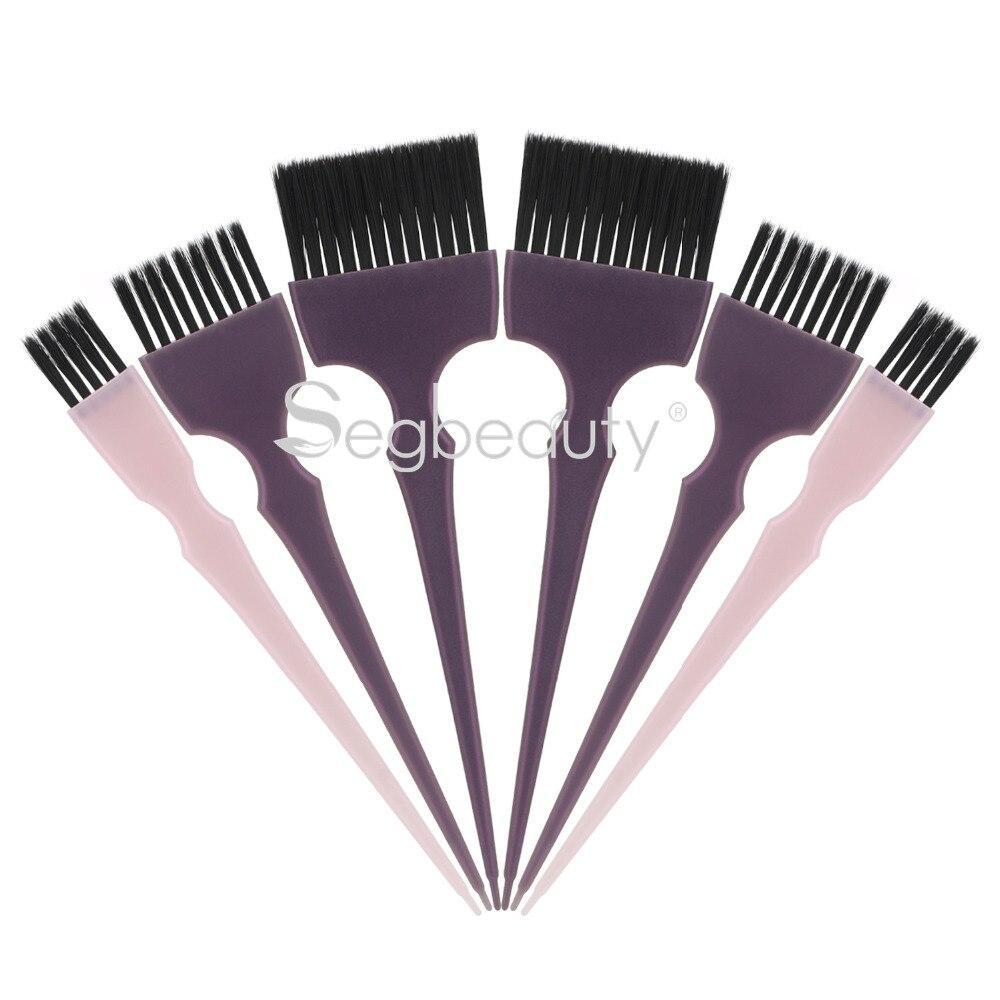 Pincel tinte cabello 6 uds pelo brocha para aplicar el tinte de Color profesional de peluquería tintado lejía estilo Color aplicador de Balayage