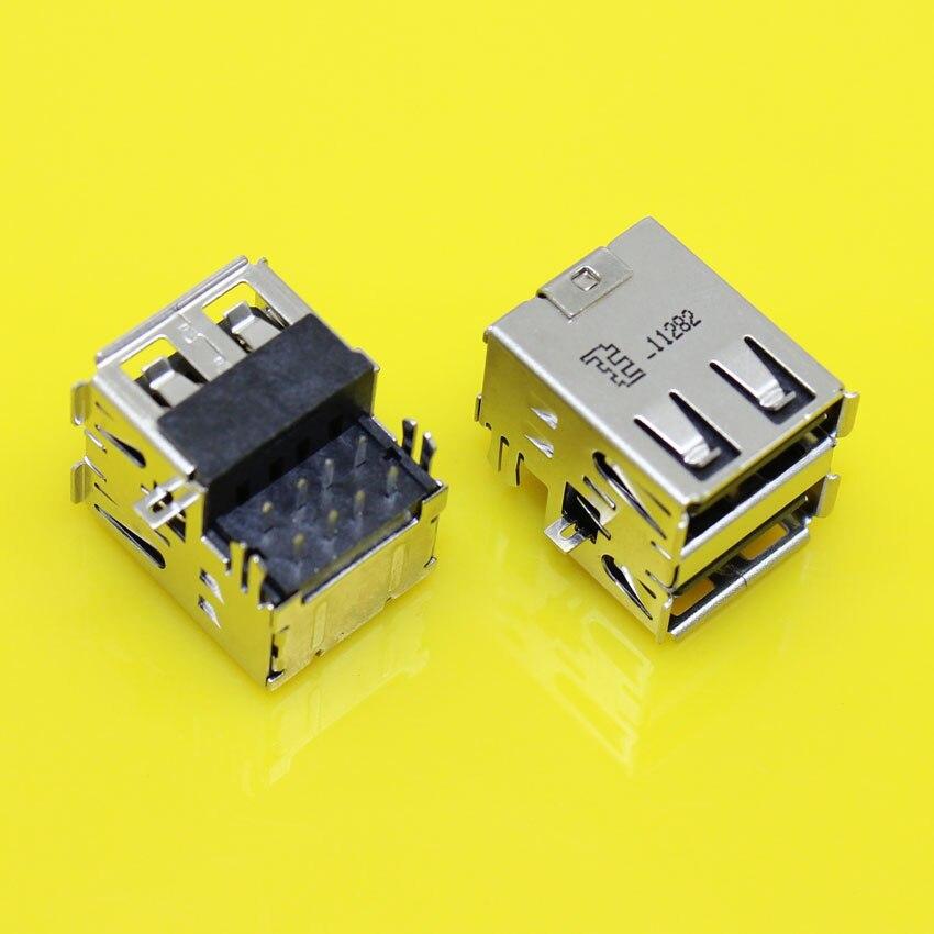 -196 doble 2,0 conector USB Jack para Acer Aspire 3050, 5050, 5070,...