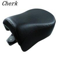 חדש שחור אופנוע אחורי נוסע אחורי מושב עבור הארלי דוידסון Dyna 2006-2009 מודלים FXD FXDB 06 07 08