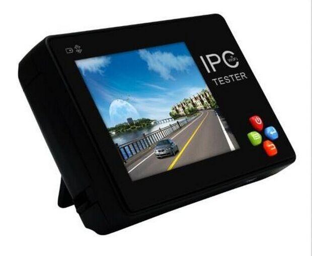 "Handgelenk Ip-kamera Tester/Touchscreen 3,5 ""IP CCTV Tester Analog Kamera WIFI PTZ 12V1A RJ45 IPC-1600 Onvif Tester Monitor"