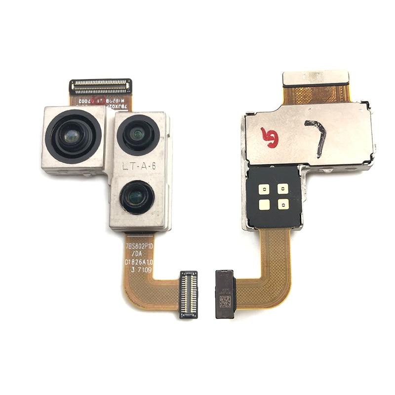 Para Huawei Companheiro 20 Pro Substituição de Volta Módulo de Câmera Com Flex Cable Fita