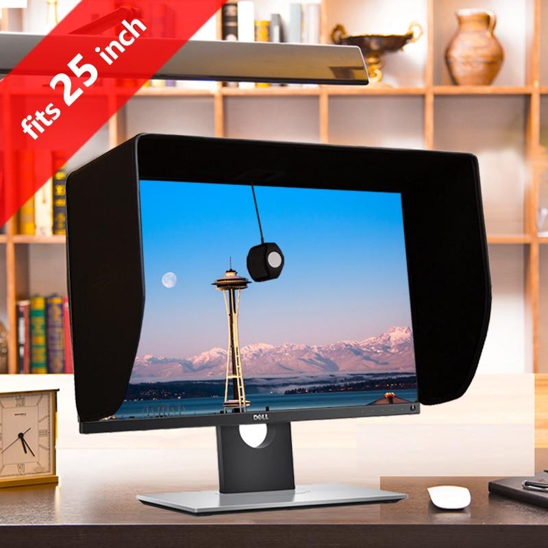 ILooker-غطاء شاشة LCD بإطار سميك ، 25P ، 24 بوصة ، شاشة فيديو ، غطاء محرك السيارة ، واقي من الشمس لأجهزة Dell ، HP ، Viewsonic ، Philips ، Samsung ، LG