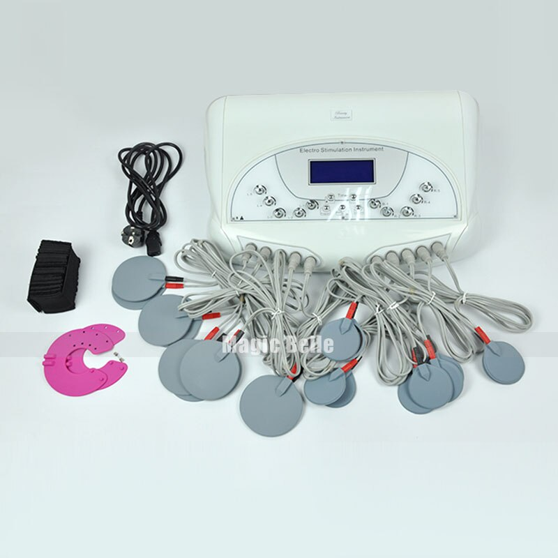 Equipo de estimulación eléctrica portátil para la construcción del cuerpo, dispositivo electrónico de estimulación muscular para adelgazar el cuerpo