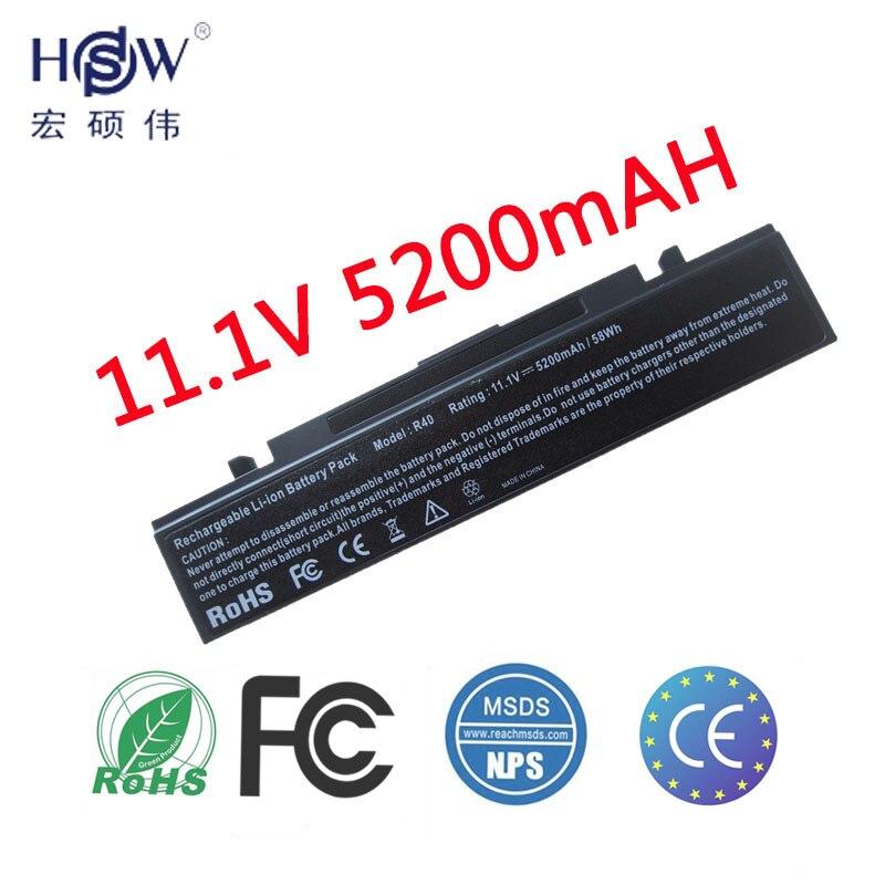 HSW batería del ordenador portátil para Samsung AA-PB2NC3B AA-PB2NC6B/E AA-PB4NC6B/E AA-PB6NC6B AA-PB2NC6B AA-PB4NC6B R60 P210 P460 P50 P560 p6
