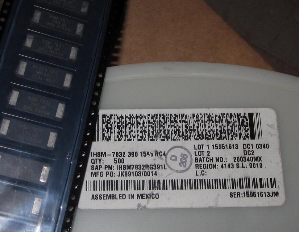 Original new 100% IHSM7832RG391L IHSM-7832 390uH 15% RC4 inductor