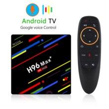H96 MAX Plus Smart TV Box Android 9.0 4GB 64GB Rockchip RK3328 H.265 4K Youtube Netflix Google Play Media player PK X96 MAX