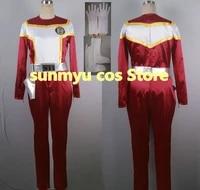 kousoku sentai turboranger red turbo cosplay costumesize customizablehalloween performance