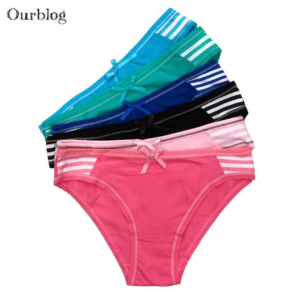 OURBLOG 5pcs /lot Hot Selling Cotton Women's Briefs Sexy Low-waist Panties Ladies Briefs Ladies Cotton Briefs Underwear M L Xl