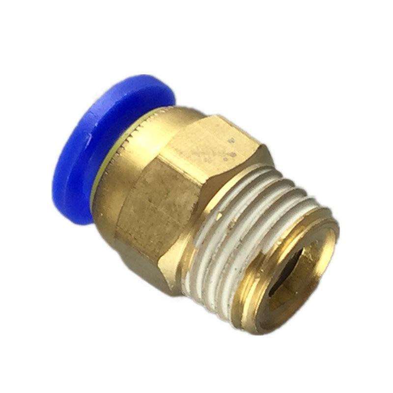 Envío gratis 10 Uds racor neumático presión conector rápido accesorios PC6-01 PC6-02 PC8-01 PC8-02 PC4-m5 PC4-01 PC10-02 PC10-03