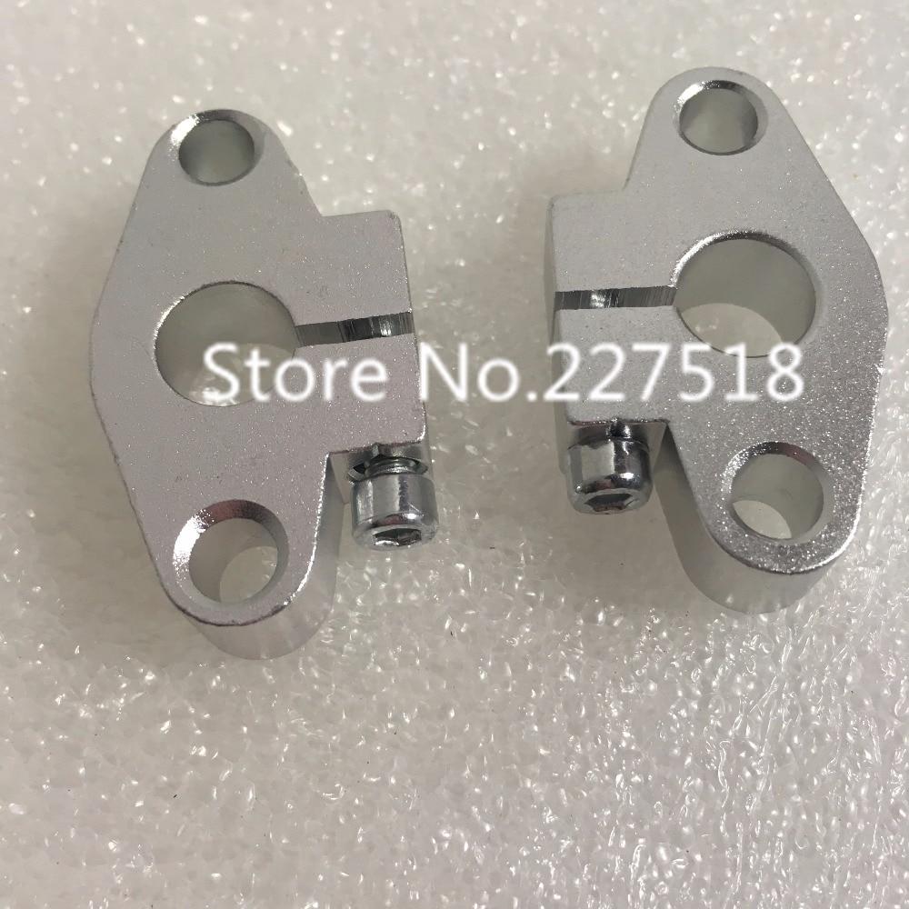16pcs/lot SHF10 10mm horizontal linear shaft support 10mm Linear Rail Shaft Support XYZ Table CNC SHF Series Rail Shaft