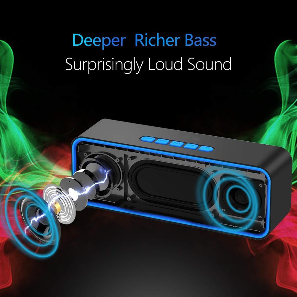 Altavoz bluetooth inalámbrico, altavoz portátil, sistema de sonido, estéreo, música, envolvente, exterior, S1, radio FM