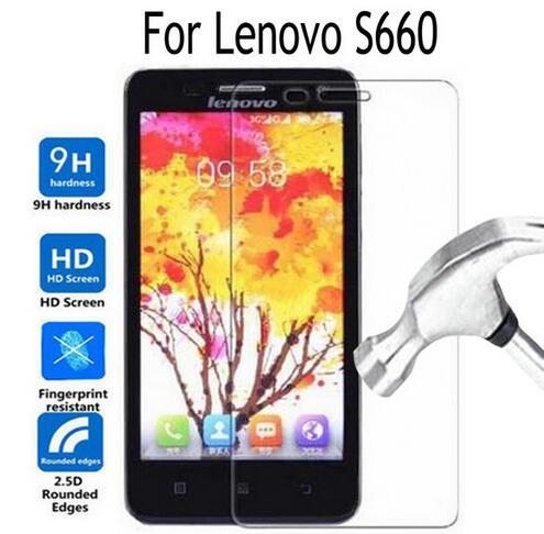 Gehard Glas Voor Lenovo S660 S668T Screen Protector Cover Film voor Lenovo S 660 2.5D 9 H Gehard Beschermfolie Cover Verre