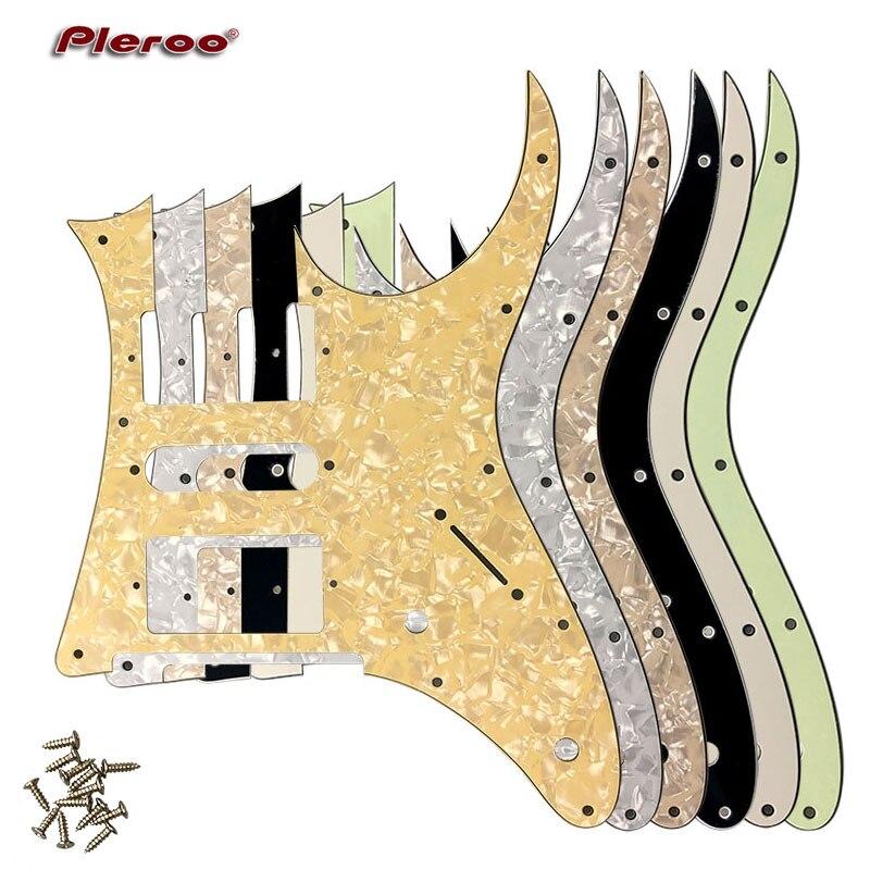 Pleroo пользовательские гитарные части-для MIJ Ibanez RG 350 DX гитарный пикамент HSH Humbucker Пикап царапин пластина