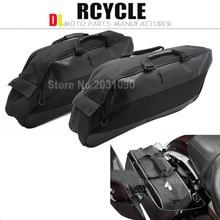 Black Saddlebags Liners Saddle Bag For Harley Road King Street Glide Ultra Electra Glide 1994-2013 95 98 99 2006 2008 2012