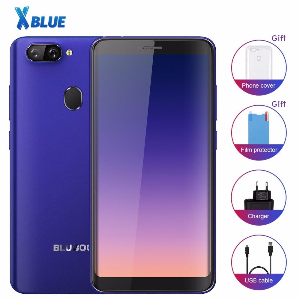 Bluboo D6 D6 PRO смартфон с 5,5-дюймовым дисплеем, четырёхъядерным процессором, ОЗУ 2 Гб, ПЗУ 16 ГБ, 2700 мАч, Android 8,1