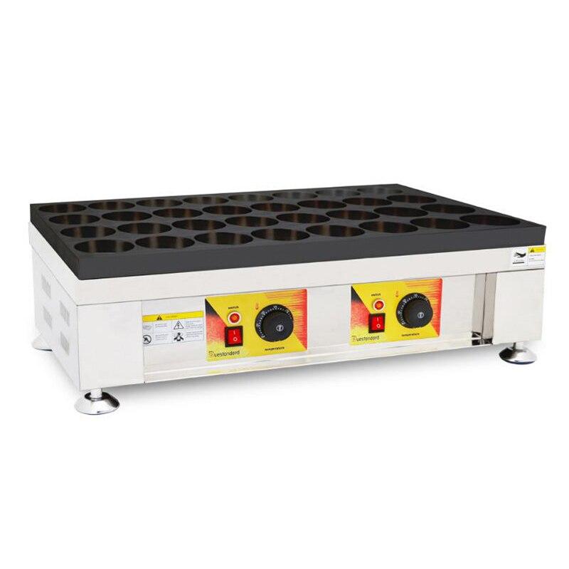 Máquina Eléctrica de la torta del frijol rojo 2400W gran potencia de la torta del frijol rojo máquina comercial del huevo máquina de hamburguesas NP-109