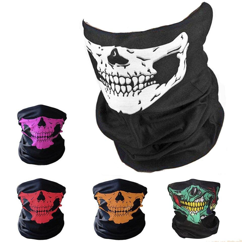 Шарф GobyGo для езды на велосипеде и велосипеде, различные волшебные головные повязки, головной платок, шарфы, сетчатые банданы с черепом, маска грелка| |   | АлиЭкспресс