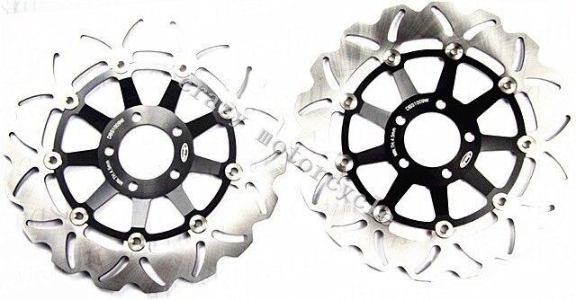 O envio gratuito de Disco de Freio da motocicleta Rotor apto para Kawasaki ZXR 400 1991-2002 ZXR 750 1988-1995 ZXR 750R 1989-1992 Frente