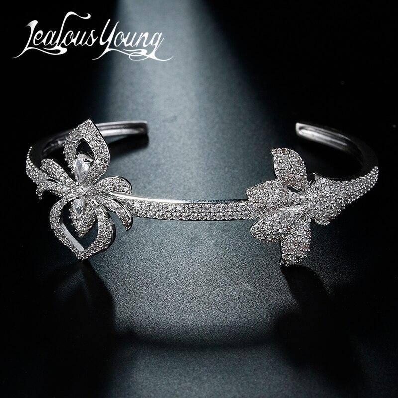Clásica rosa Color Enchapado en plata pulseras y brazaletes para mujeres boda diseño Animal piedra ajustable pulsera de encanto AB114