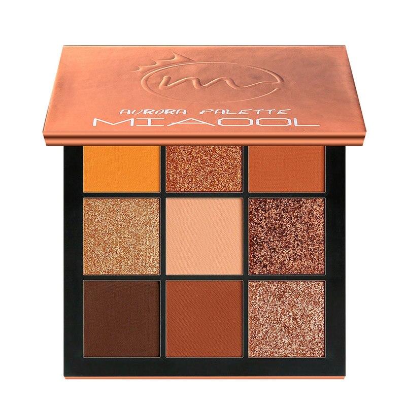 Long Lasting Eye Palettes Sweat-proof Eye Shadow 5 Style 9 Colors Glitter Palettes Shimmer Matte Eyeshadow Makeup TSLM1