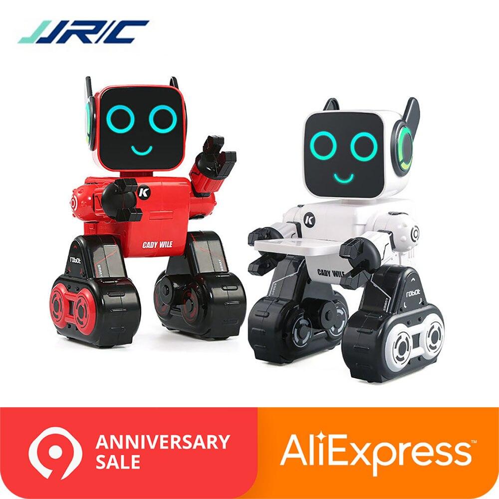 Умные игрушки JJRC R4, радиоуправляемый робот, Интерактивная игрушка VS R2 R3