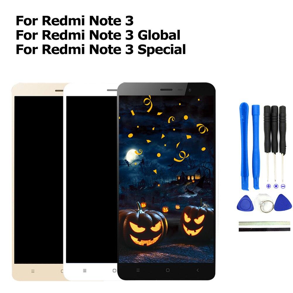 ЖК дисплей для Xiaomi Redmi Note 3 Pro с сенсорным экраном сменный экран SE без рамки|lcd display