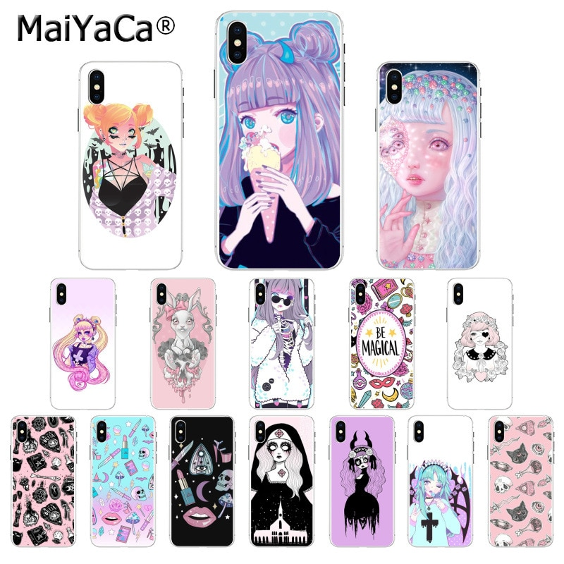 MaiYaCa, funda de teléfono móvil para Apple iphone 11 pro 8 7 66S Plus X XS MAX 5S SE XR