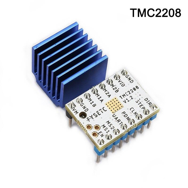 Новый TMC 2130/2208 Stepstick шаговый двигатель драйвер модуль + радиатор для 3D принтера DOM668
