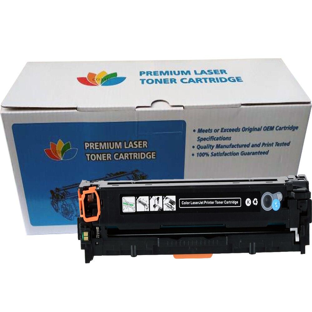 204A CF510A-CF513A совместимый тонер для HP M154 M180 M180N M181 M181FW Цвет LaserJet профессиональный принтер