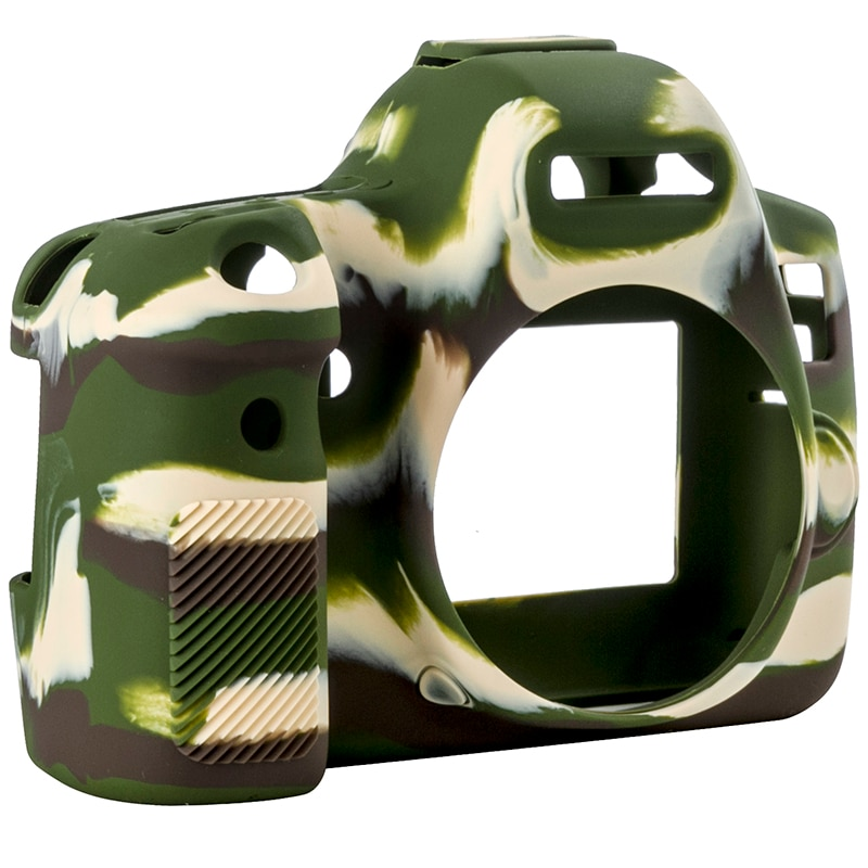 Bolsa de cámara qeento para cámara ligera CANON 6D funda protectora para EOS 6D color negro camuflaje