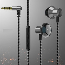 3.5mm Wired Earphone Control Stereo Sports Headphones Music Earbuds With Microphone Game Earbuds For Xiaomi Huawei Samsung sh*
