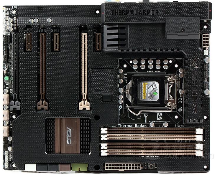 original  TUF SaberTooth Z77 DDR3 LGA 1155 32GB  USB3.0 Z77 With protective cover Desktop motherboard 90%new
