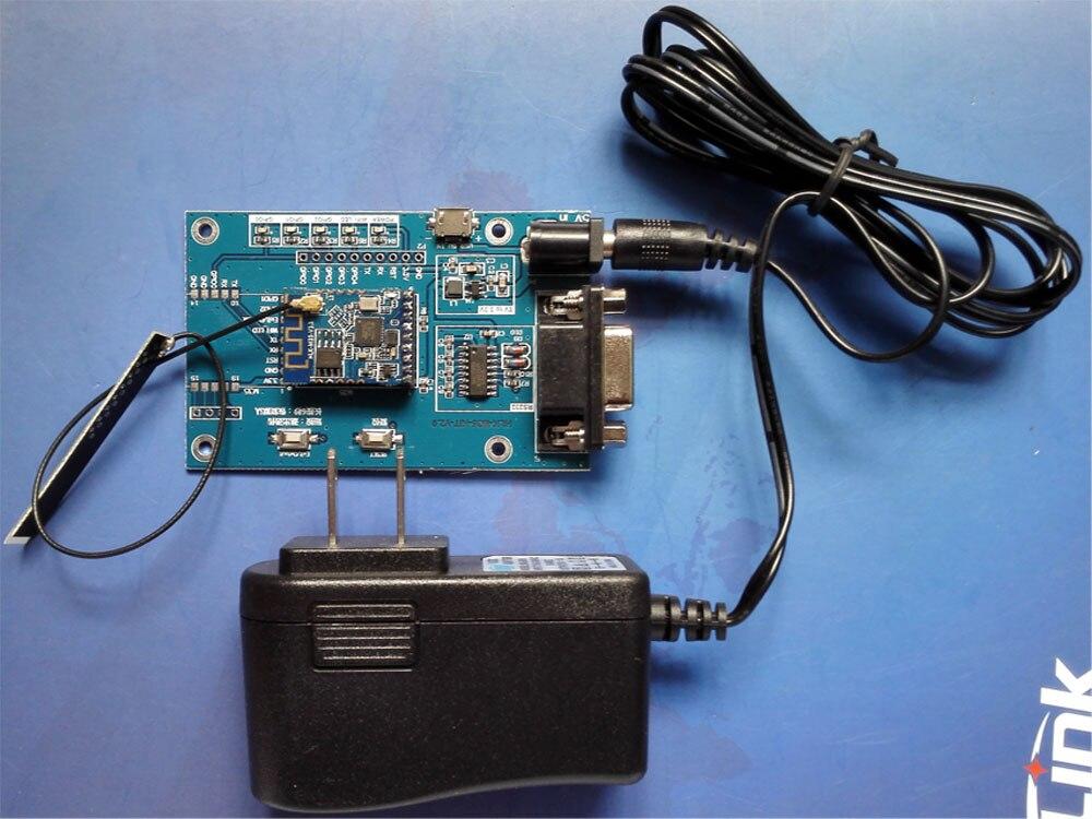 JINYUSHI Hi-enlace HLK-M35 HLKM35 Placa de desarrollo MT7681 integrado módulo wifi en serie apoyo STA y Modo AP 2,4 GHz