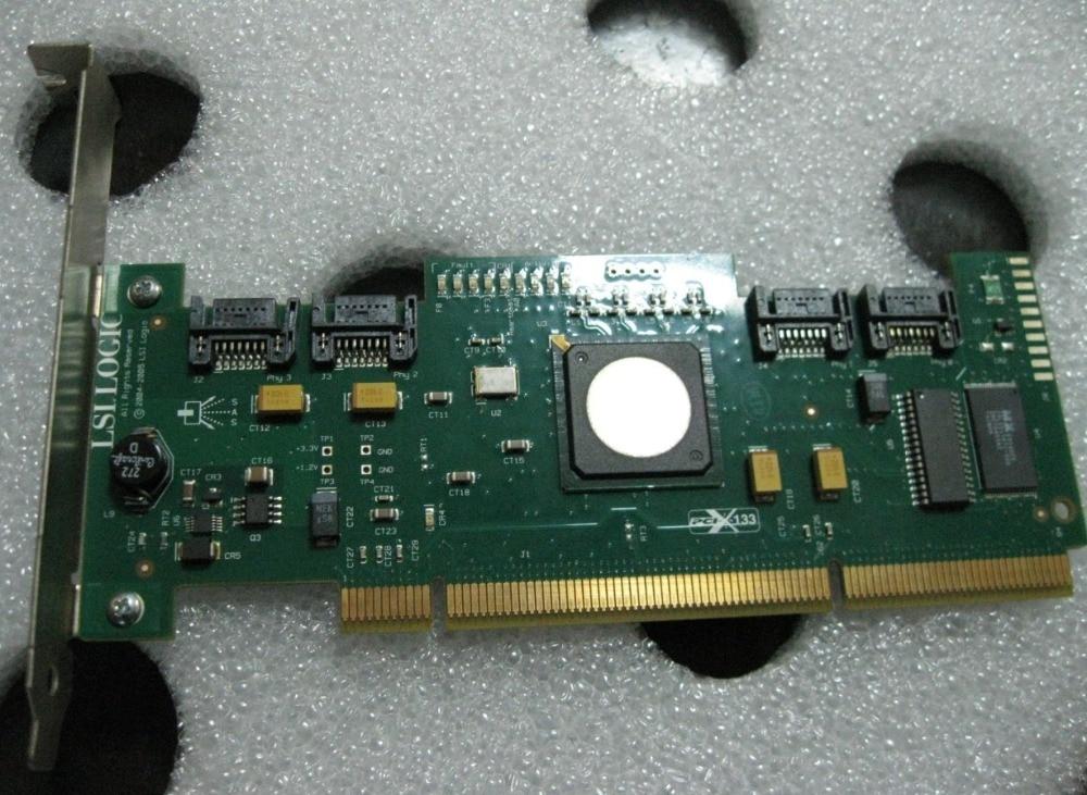 RaidStorage Avago LSI SAS 3041X-R 8 port HBA JBOD SATA X4 SAS 3 Gb PCI-x 133 Controller Karte