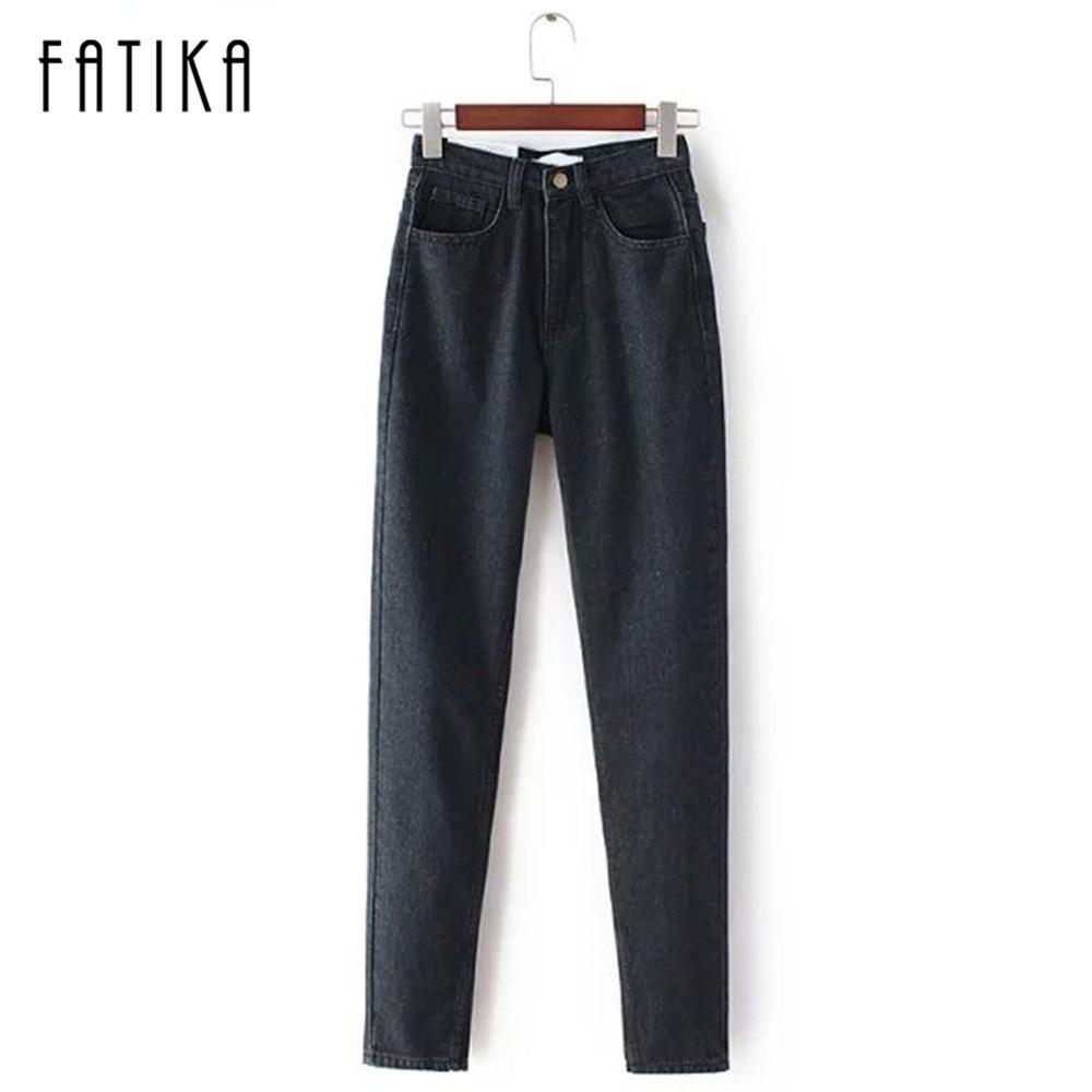 [B-222] 2014 wiosna nowych kobiet wysokiej kowbojskie spodnie harem rocznika kowbojem pełnej długości spodnie luźne spodnie kowbojskie 5