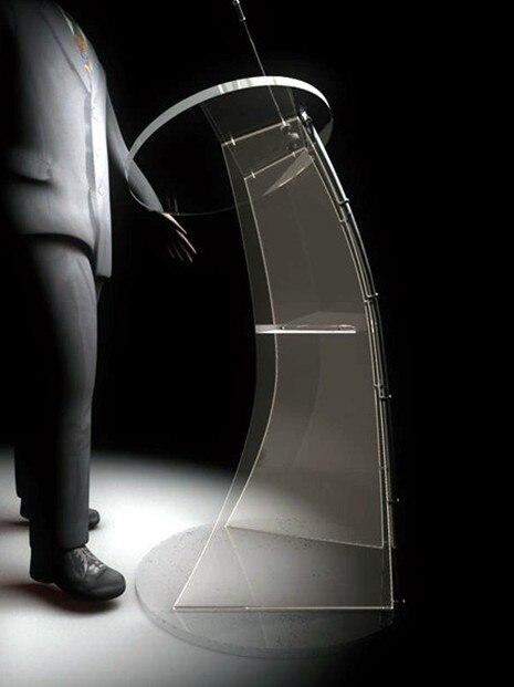 Стойка ресепшн стол для подиум прочный простой и современный проведения встреч